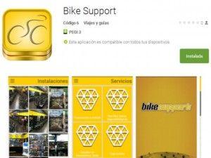 Aplicación móvil de Bikesupport (IOS / Android)