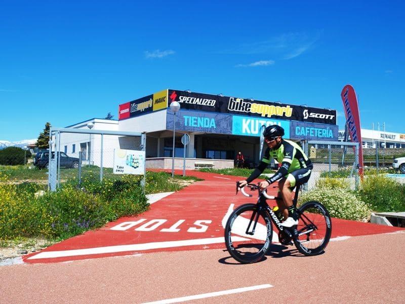 Inauguración de la nueva tienda Bike Support en el Carril Bici