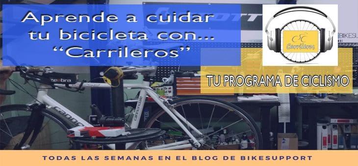 Escucha la tercera entrega de «Carrileros»… Tu programa de Ciclismo!!