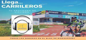 programa de radio desde la tienda de bicicletas del carril de Colmenar Viejo