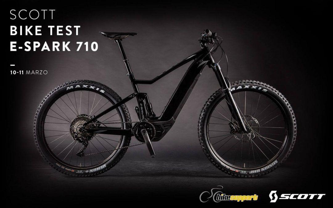 Prueba la bicicleta eléctrica en nuestros Demo Days Scott E-Spark 710