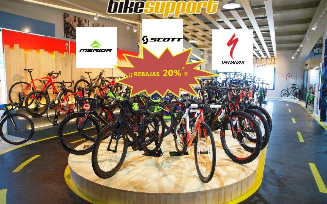 Rebajas de Verano en Bike Support