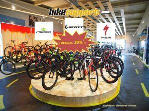 Oferta del 20% en bicicletas Mérida, Scott y Specialized del 2018...