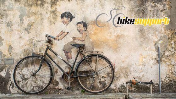 La bici como elemento decorativo