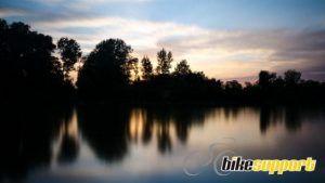 Paisaje y lago