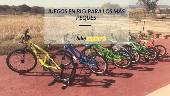 Juegos en bici para los más peques