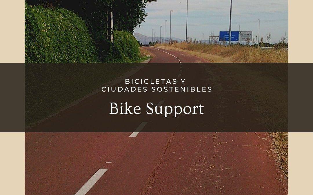 Las bicicletas en una ciudad sostenible